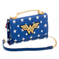 DC Comics Wonder Woman Inside Out Crossbody Wallet Clutch