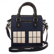 Doctor Who Police Box Mini Brief Handbag