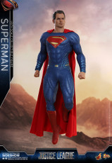 hot toys superman 1/6 scale figure justice league