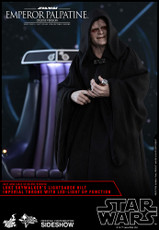 hot toys emperor palpatine deluxe 1/6 scale figure