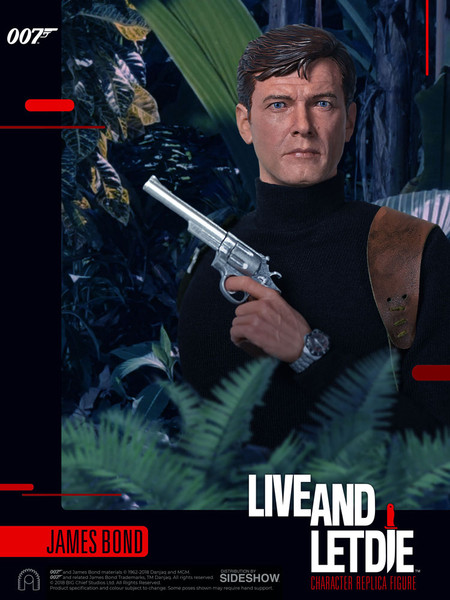 james bond live and let die roger moore 1/6 scale figure
