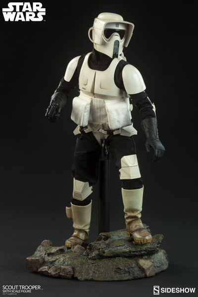 scout trooper one sixth scale figure