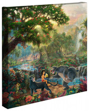"""The Jungle Book 14"""" x 14"""" Gallery Wrapped Canvas"""