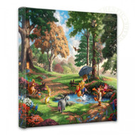 """Winnie the Pooh I 14"""" x 14"""" Gallery Wrapped Canvas"""
