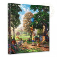 """Winnie the Pooh II 14"""" x 14"""" Gallery Wrapped Canvas"""