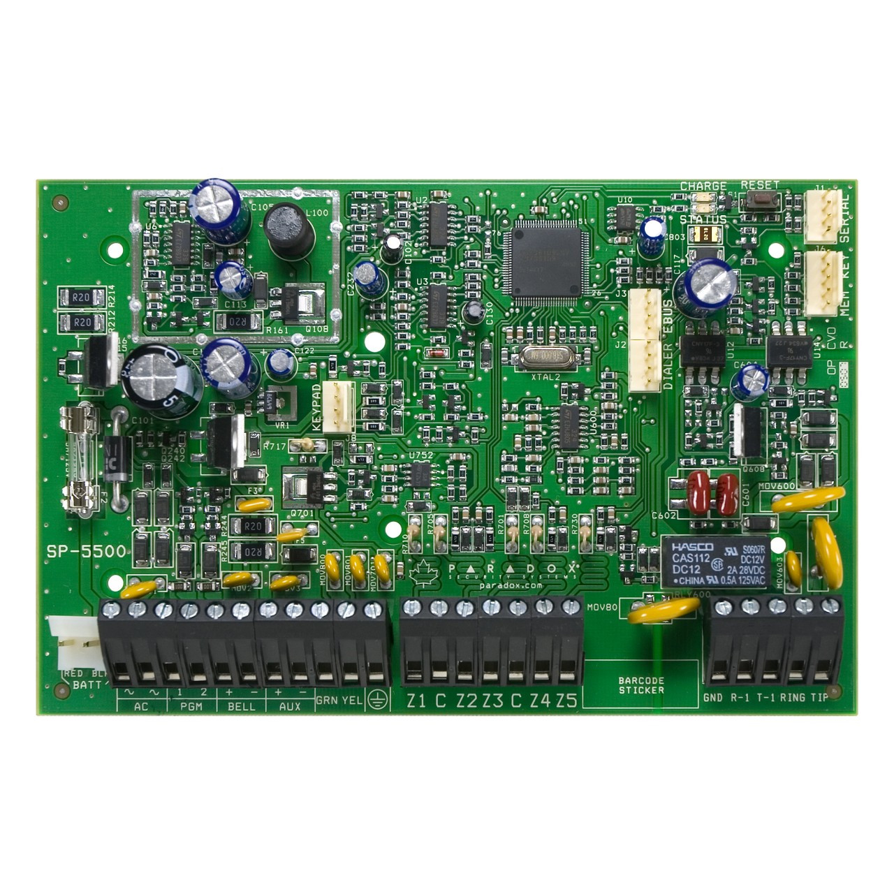 SP_5500_01__32896.1365700174?c=2 paradox sp5500, 5 to 32 zone alarm panel tremtech electrical paradox mg5050 wiring diagram at bayanpartner.co