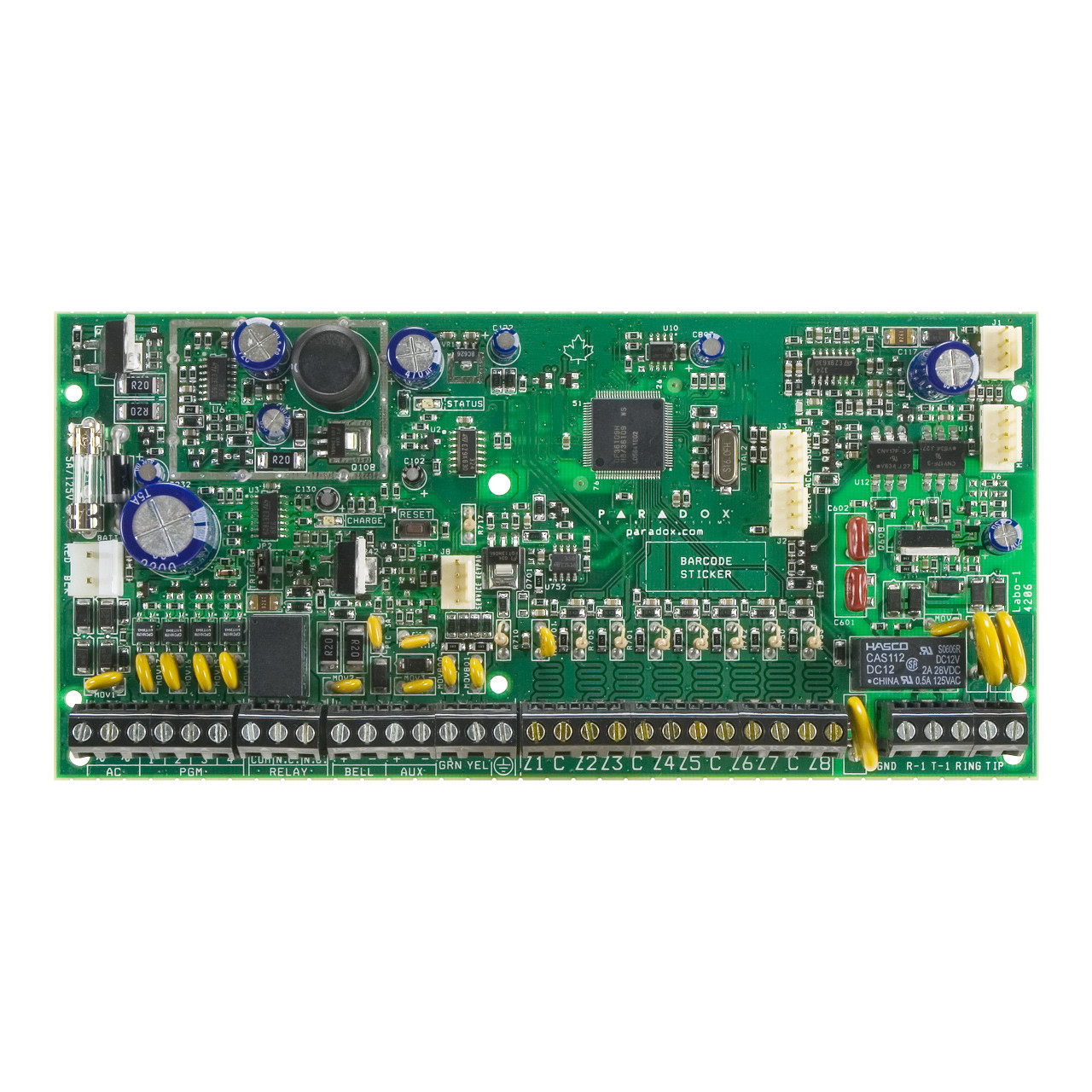 SP_6000_01__48836.1365701143?c=2 paradox sp6000, 8 to 32 zone alarm panel tremtech electrical paradox sp6000 wiring diagram at aneh.co