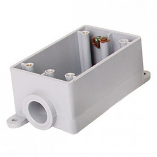 "Royal 3/4"" FS Single Gang Device Box 15.3 CU. IN."