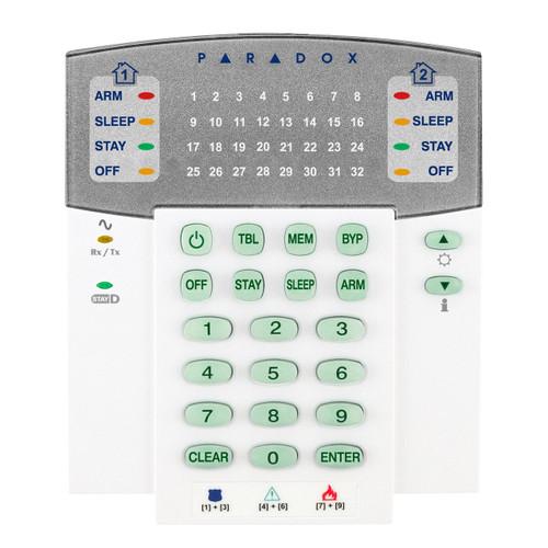 K32RF_DO__01474.1472501232?c=2 paradox k32rf 32 zone wireless led keypad, 433mhz, english paradox sp6000 wiring diagram at bayanpartner.co