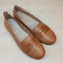 Erica Leather Beige