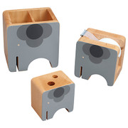 Orla Kiely Elephant Desk Accessories