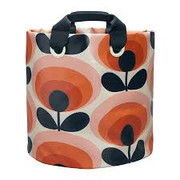 Large Fabric Plant Bag 70s Flower Oval Permission