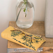 Glasses Cases - Yellow with hedgerow