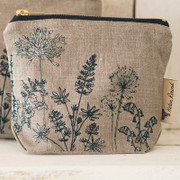 Small Cosmetic Case - Natural hedgerow