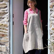 Linen Hedgerow Apron