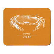 Orange Placemat - Cornish Crab