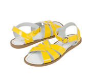 Saltwater Sandals Shiny Yellow