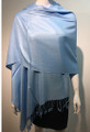 Pashmina Solid  Baby Blue2-24