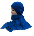 Soft Knit  Fashion Beret Scarf Sets Assorted Dozen # H1501