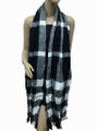 Soft Warm check  Scarf Assorted Dozen #302