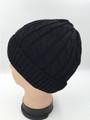 Unisex Beanie Hats Black Dozen #H1137BK