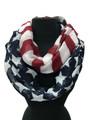 Lightweight American Flag Infinity Scarf Assorted Dozen #S 805