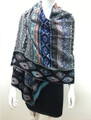 Multi  Color Shawl Scarf Assorted Dozen # s87