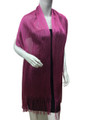 Women's glitter metallic shawl scarf  Hot Pink # 736-9