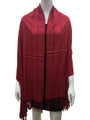 Cashmere Feel shawl  Scarves Red# 93-4