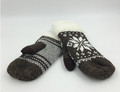 New! Winter Knitted Gloves With Thick Fleece Lined Assorted dozen # G1074