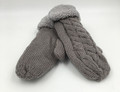New! Knit Cable  Gloves With Thick Fleece Lined Assorted dozen # G1076