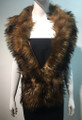 Super Soft Faux Fur  Warm Scarf Brown  #S 81-5