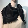 Square Paisley scarf  Black  # 137-2