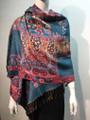 New! Pashmina  Tuequoise Dozen #154-3
