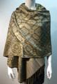 New!   Metallic Pashmina  Gray Dozen # S168-2