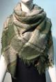 Womens Stylish Shawl  Scarf Green # S 978-3