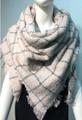 Womens Stylish Shawl  Scarf Pink # S 979-6