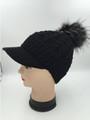 Women's Stylish Knit Cap Black Dozen #H1177