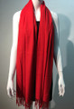 New ! Large Soft Cashmere Feel Scarf  Red # 963-2