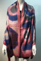 New ! Large Soft Tie-dye Cashmere Feel Scarf  Pink # 965-3