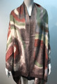 New ! Large Soft Tie-dye Cashmere Feel Scarf  Coffee # 965-6