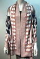 New ! Large Soft  Polka Dot Cashmere Feel Scarf  Pink # 967-3