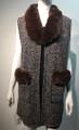 New! Elegant Women's - Faux Fur  Poncho  Cape  Brown # P223-5