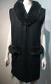 New! Elegant Women's - Faux Fur  Poncho  Cape  Green # P223-7