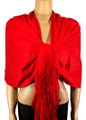 Pashmina Solid Red #2-4