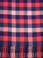Cashmere Feel Scarves Blue Pink Purple K 71-6