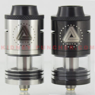 IJOY Limitless RTA  Limitless is bringing back the genesis style atomizers with the release of the Limitless RTA. This RTA features a innovative side fill that is positioned under the top cap for easy access, a two post velocity style deck, and additional deck cutaway for easier wicking.   Features:  Full Stainless Steel construction Innovative side fill 4ml Capacity Dual slotted adjustable direct airflow Sidewall wick ports 12mm Widebore Delrin Tip Includes 6mm bore Delrin Tip Includes spare orings and screws Adjustable brass 510