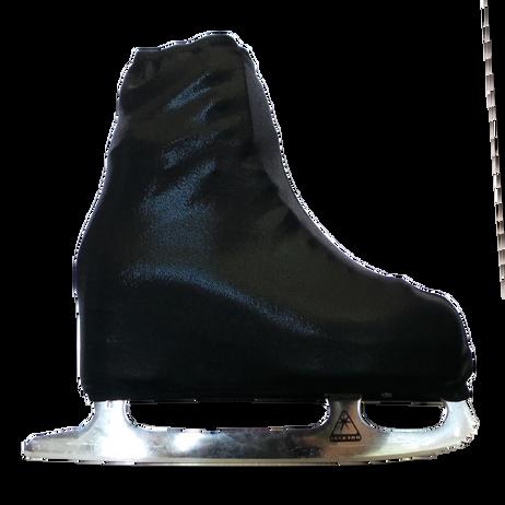 metallic figure skating boot covers by kami so metallic