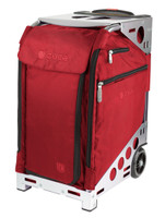 ZUCA ARTIST PRO BAG - RUBY INSERT AND SILVER FRAME