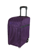 ZUCA PRO TRAVEL BAG - PURPLE INSERT AND SILVER FRAME